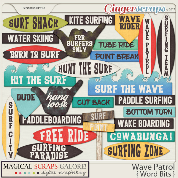Wave Patrol (word bits)