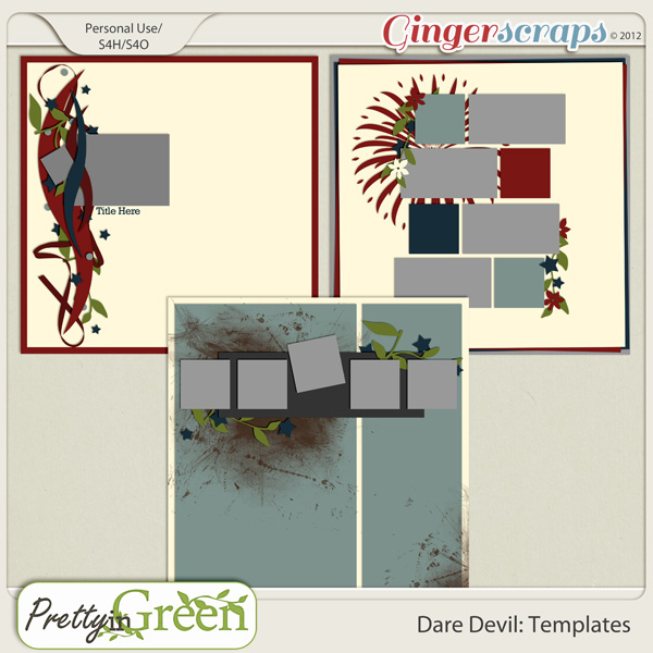 Dare Devil: Templates