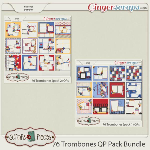 76 Trombones Quick Pages Bundle