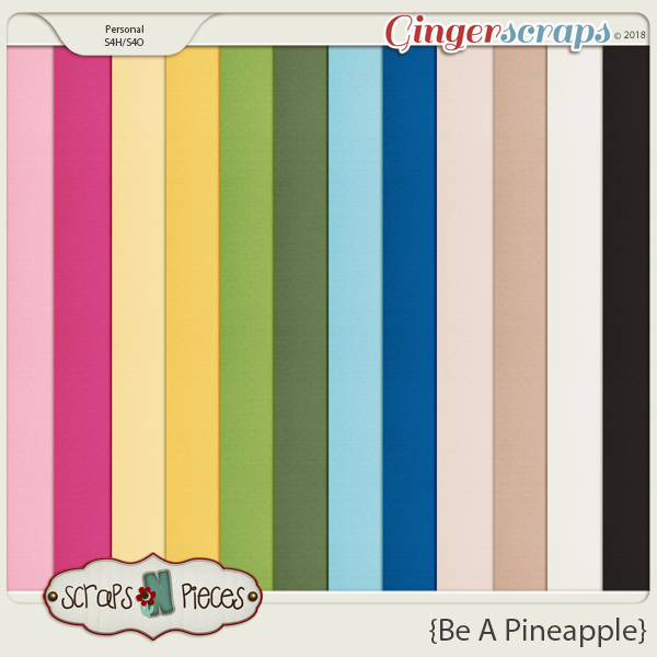 Be A Pineapple Cardstocks by Scraps N Pieces