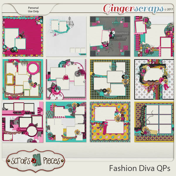 Fashion Diva Quick Pages