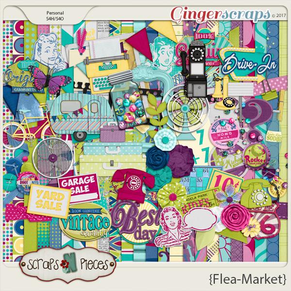 Flea Market Kit by Scraps N Pieces