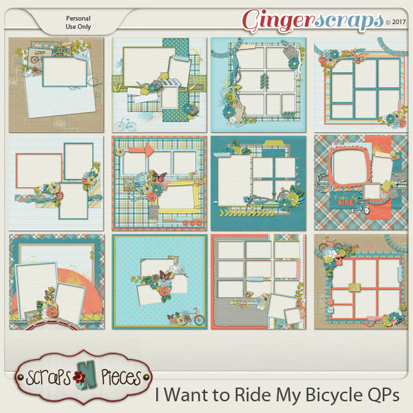 I Want To Ride My Bicycle Quick Pages