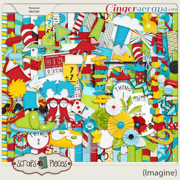Imagine Kit by Scraps N Pieces