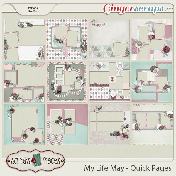 My Life - May Quick Pages