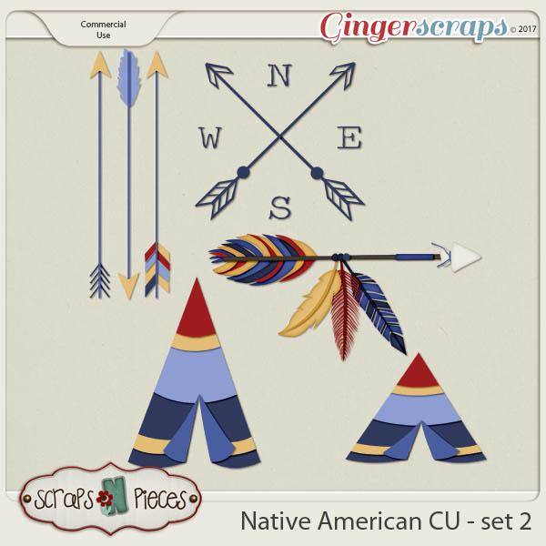 Native American CU set 2 - Scraps N Pieces