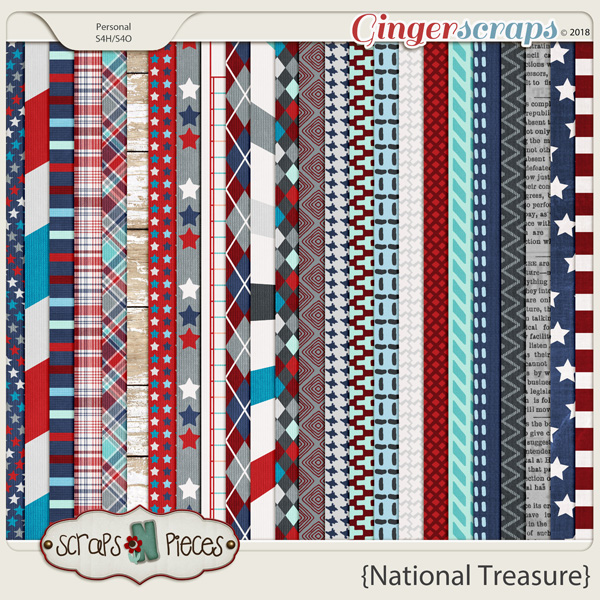 National Treasure Papers by Scraps N Pieces