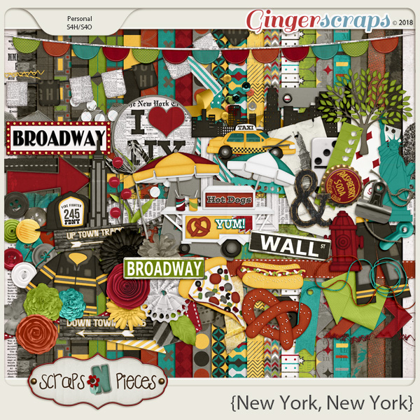 New York, New York kit by Scraps N Pieces