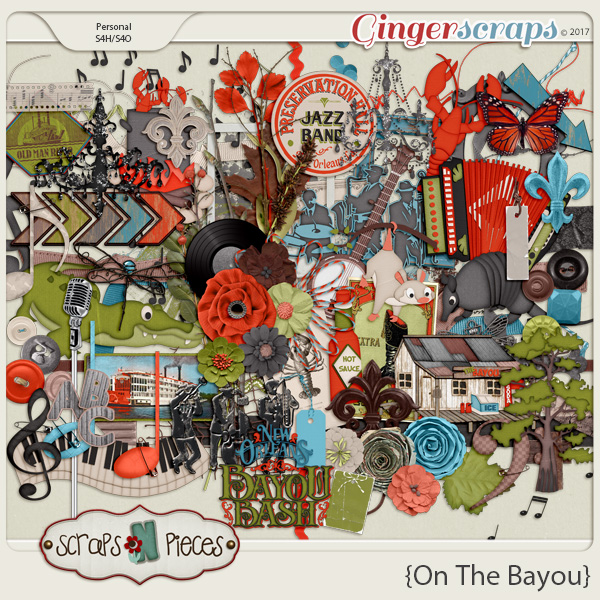 On the Bayou Elements by Scraps N Pieces