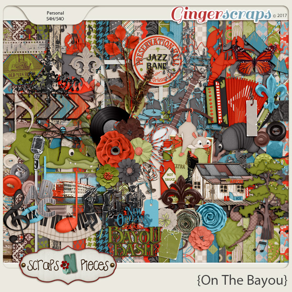 On the Bayou kit by Scraps N Pieces