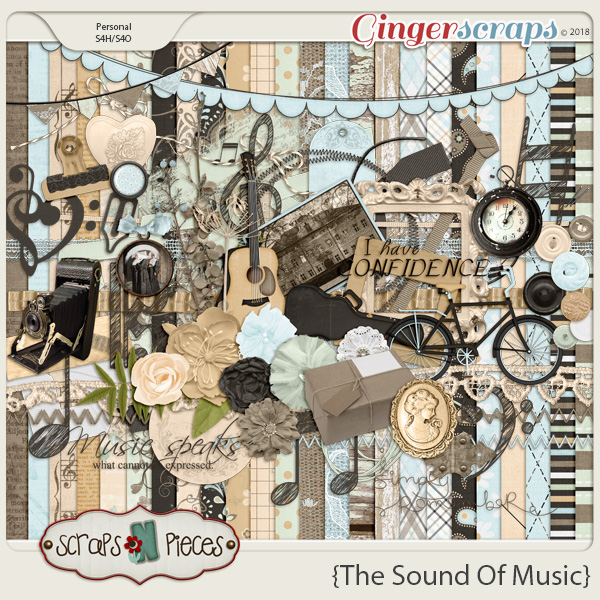 The Sound of Music by Scraps N Pieces