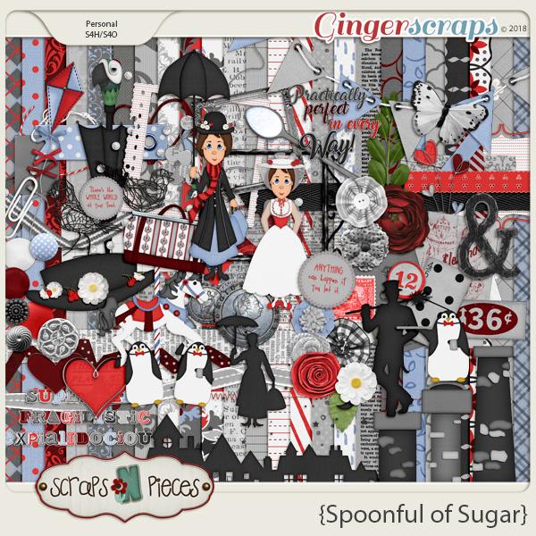 Spoonful of Sugar by Scraps N Pieces