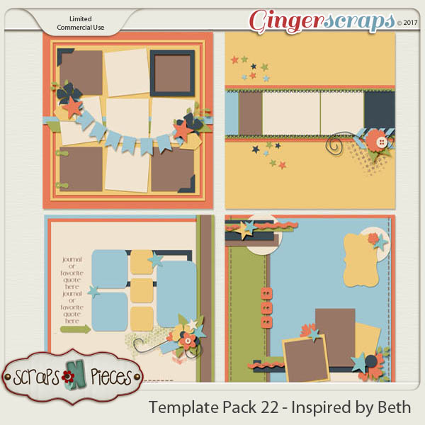 Template Pack 22 - Inspired by Beth