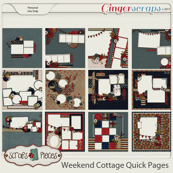 Weekend Cottage Quick Pages
