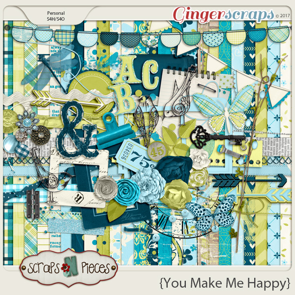 You Make Me Happy by Scraps N Pieces