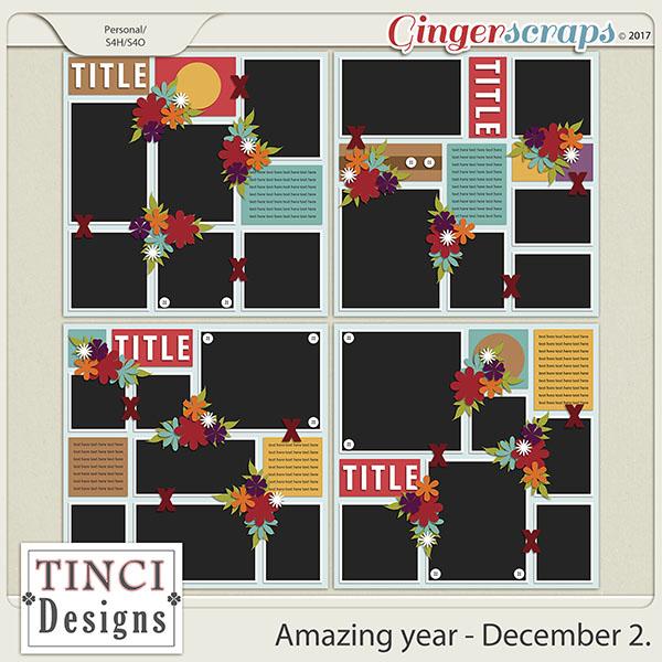 Amazing year - December 2.