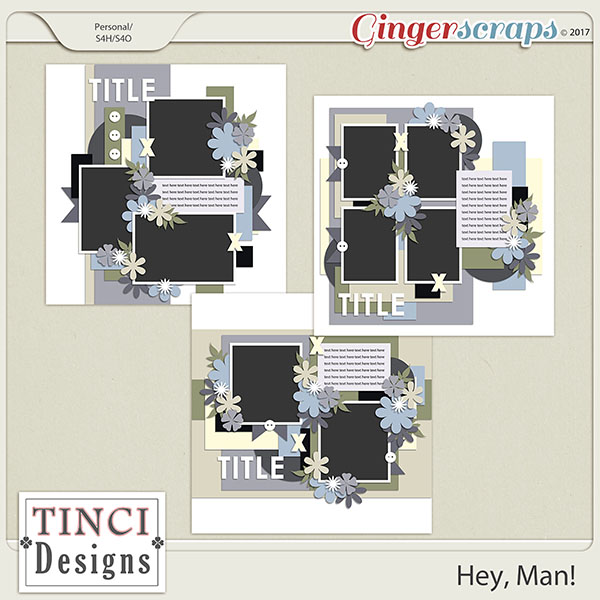Hey, man! templates by Tinci Designs