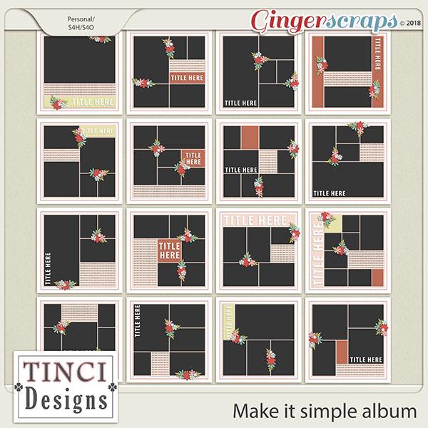 Make it simple album