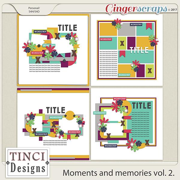 Moments and memories vol. 2.