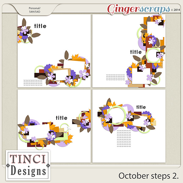 October steps 2.
