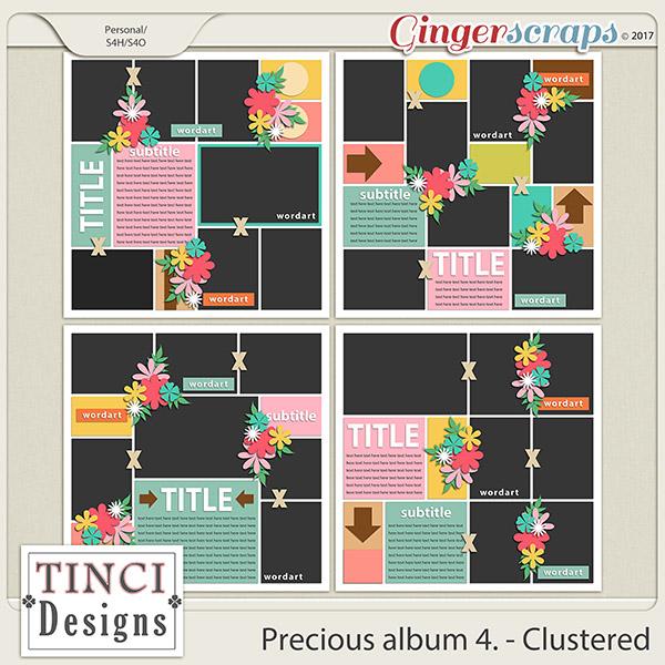 Precious album 4. - Clustered