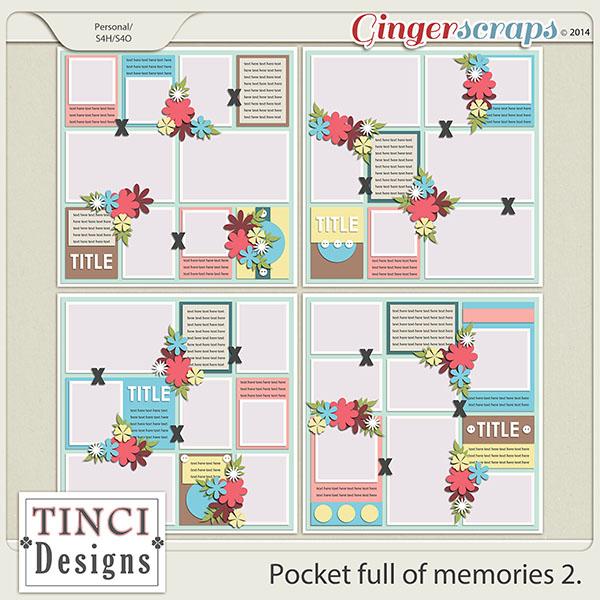 Pocket full of memories 2.