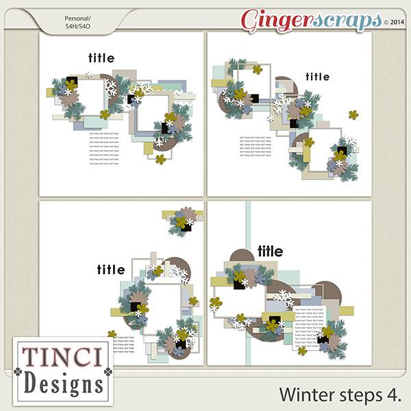 Winter steps 4.