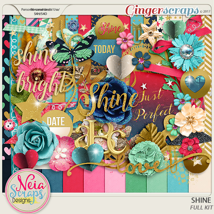 Shine - kit - By Neia Scraps