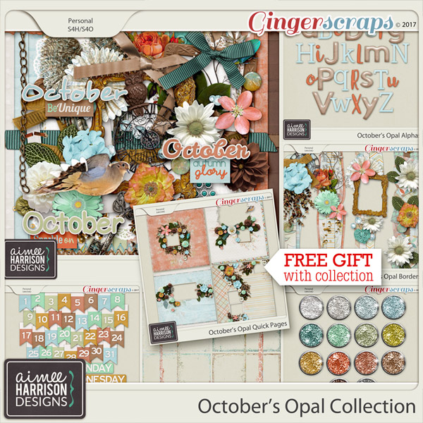 October's Opal Collection by Aimee Harrison