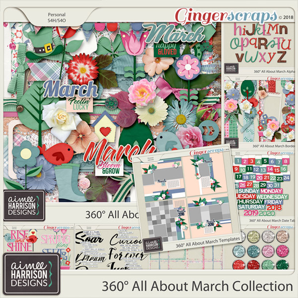 360° All About March Collection by Aimee Harrison