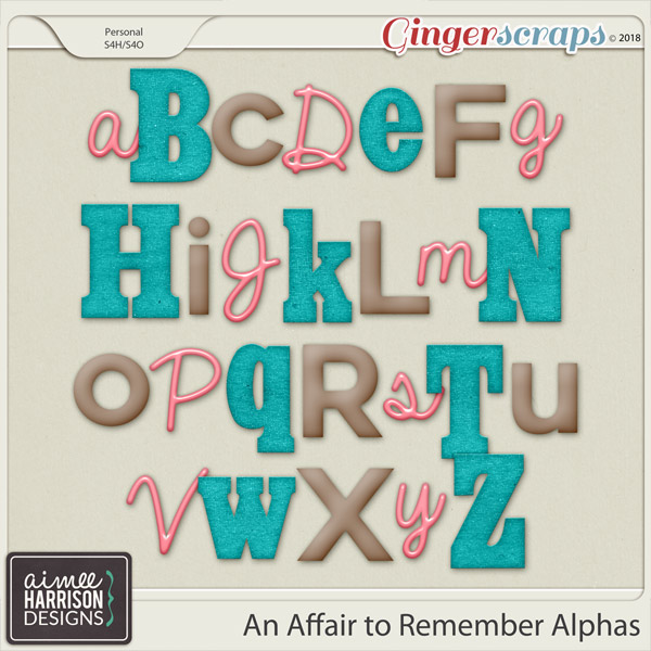 An Affair to Remember Alpha Sets by Aimee Harrison