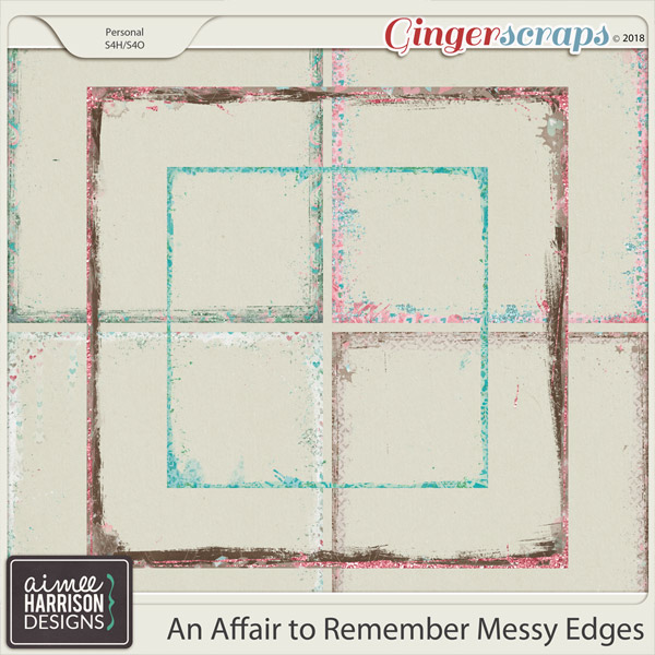 An Affair to Remember Messy Edges by Aimee Harrison