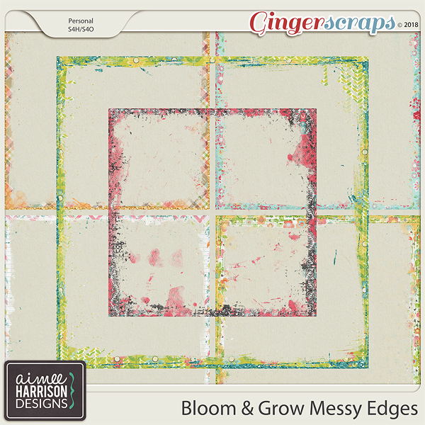 Bloom & Grow Messy Edges by Aimee Harrison