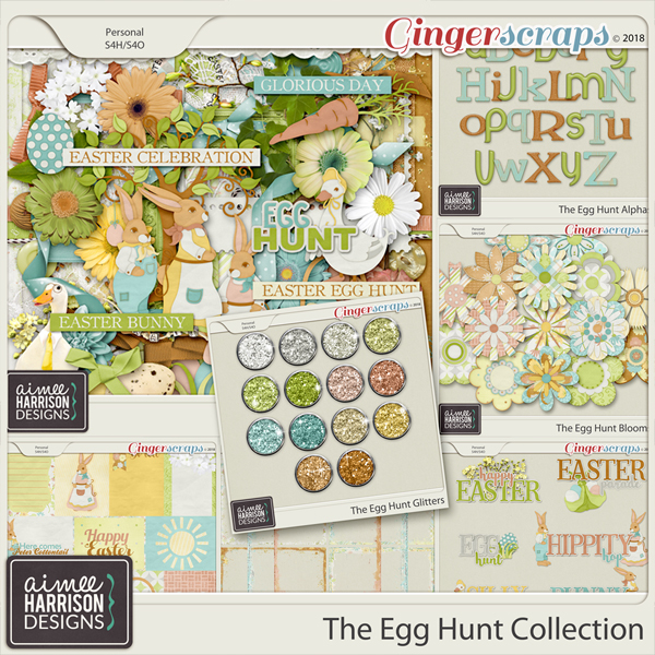 The Egg Hunt Collection by Aimee Harrison