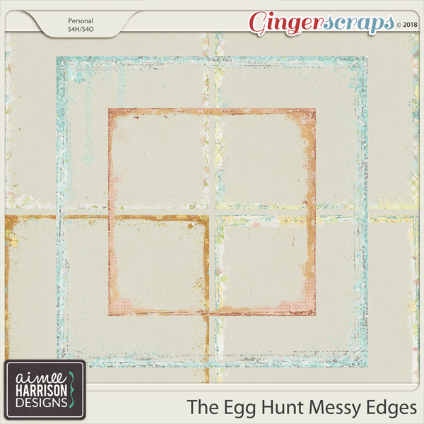 The Egg Hunt Messy Edges by Aimee Harrison