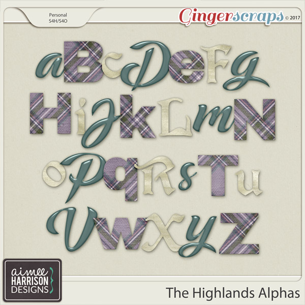 The Highlands Alpha Sets by Aimee Harrison