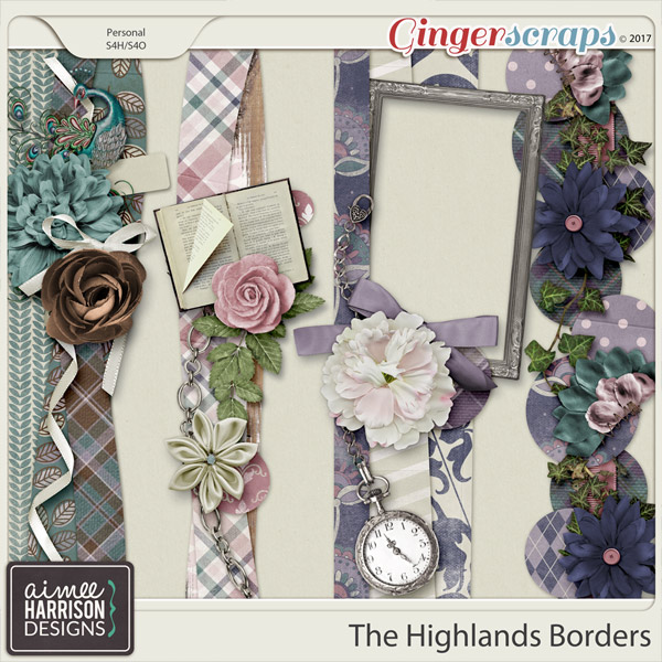 The Highlands Borders by Aimee Harrison
