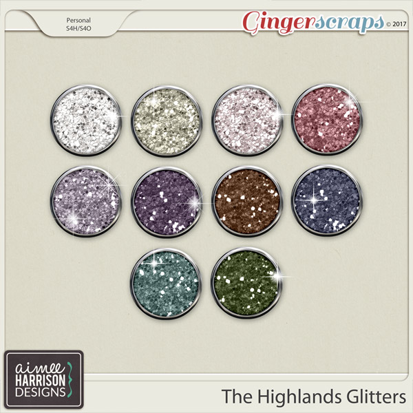 The Highlands Glitters by Aimee Harrison