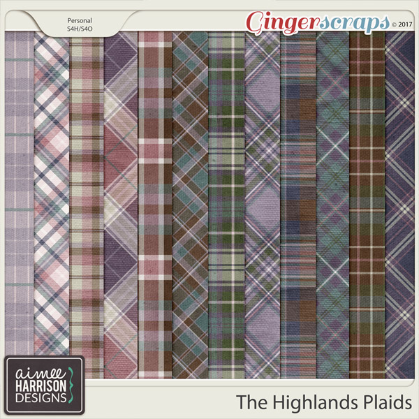 The Highlands Plaid Papers by Aimee Harrison