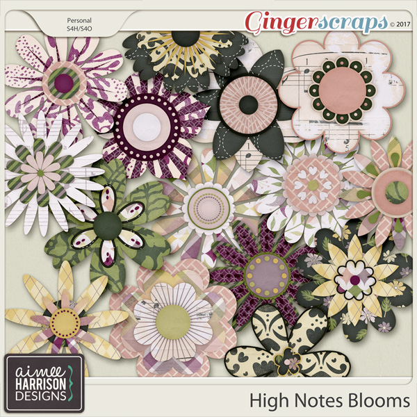High Notes Blooms by Aimee Harrison