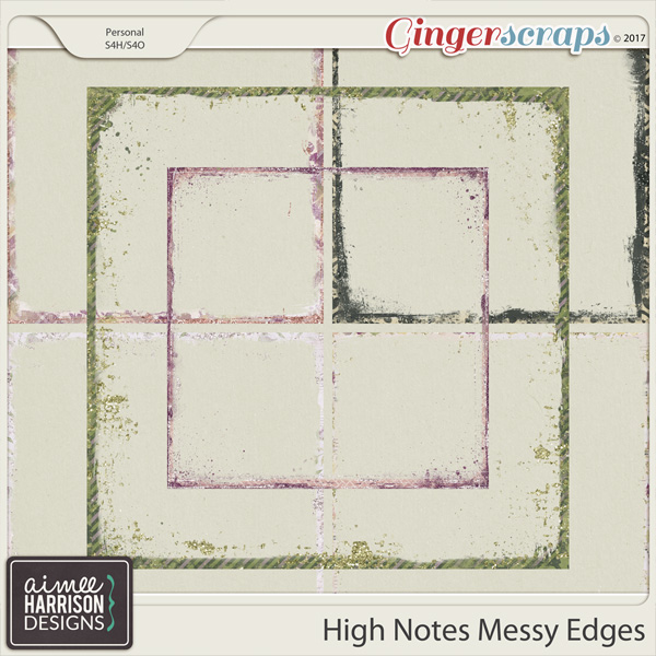 High Notes Messy Edges by Aimee Harrison