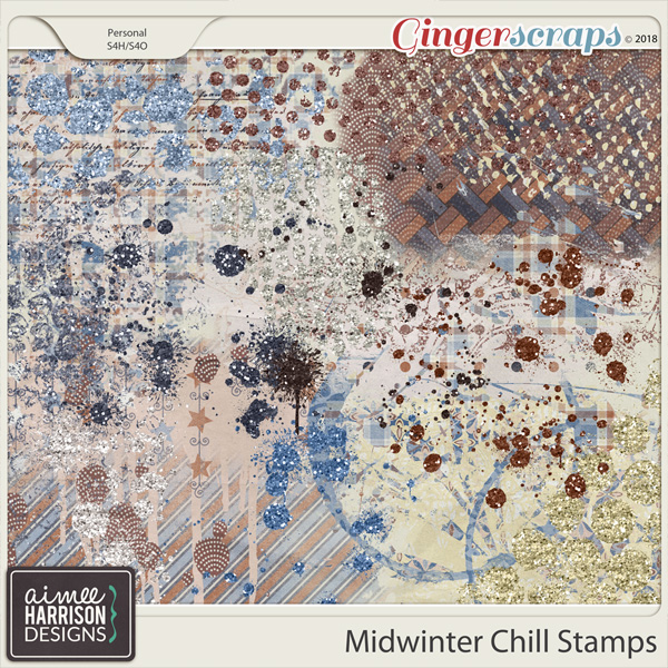 Midwinter Chill Stamps by Aimee Harrison