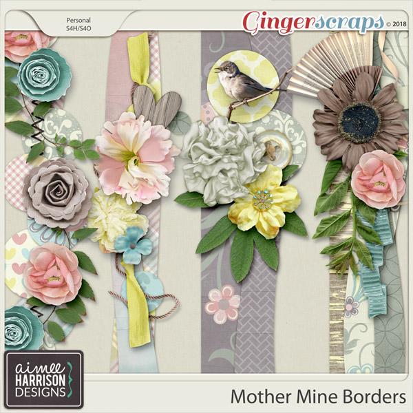 Mother Mine Borders by Aimee Harrison