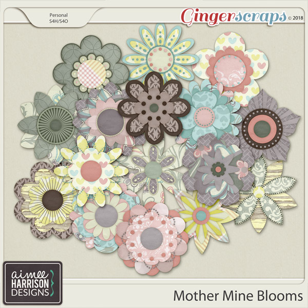 Mother Mine Blooms by Aimee Harrison