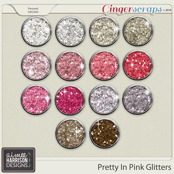 Pretty in Pink Glitters by Aimee Harrison