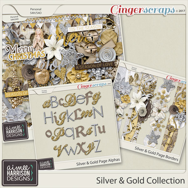 Silver & Gold Collection by Aimee Harrison