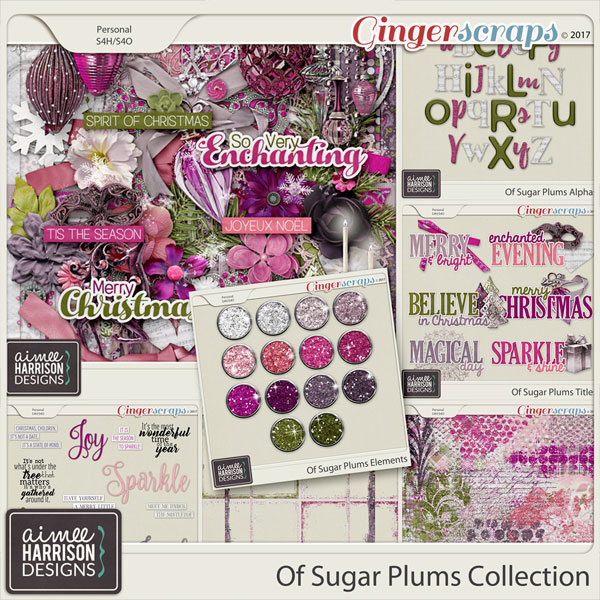 Of Sugar Plums Collection by Aimee Harrison