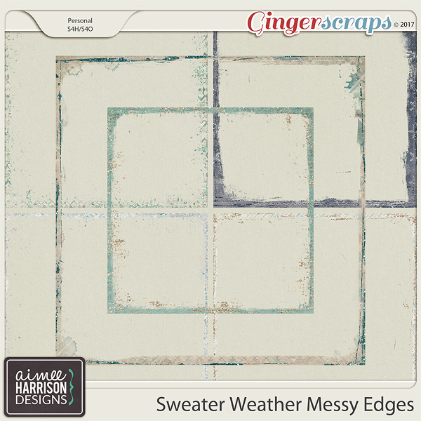 Sweater Weather Messy Edges by Aimee Harrison