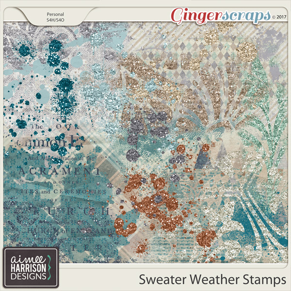 Sweater Weather Stamps by Aimee Harrison
