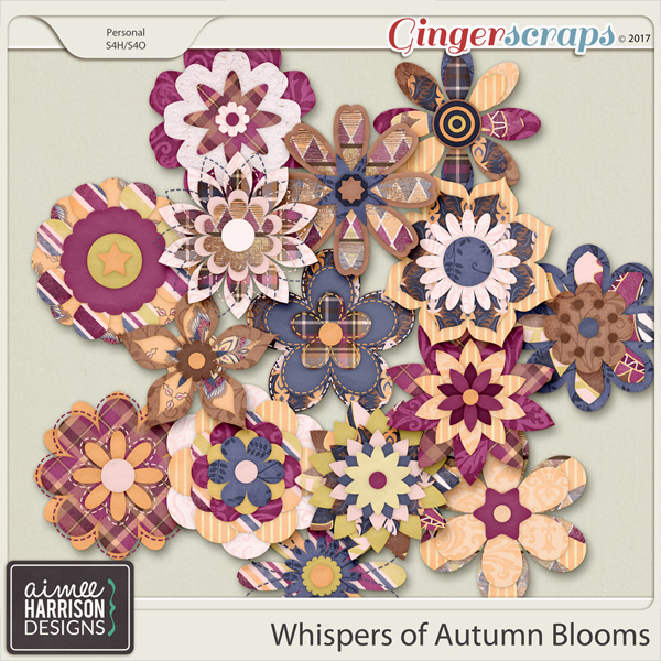 Whispers of Autumn Blooms by Aimee Harrison